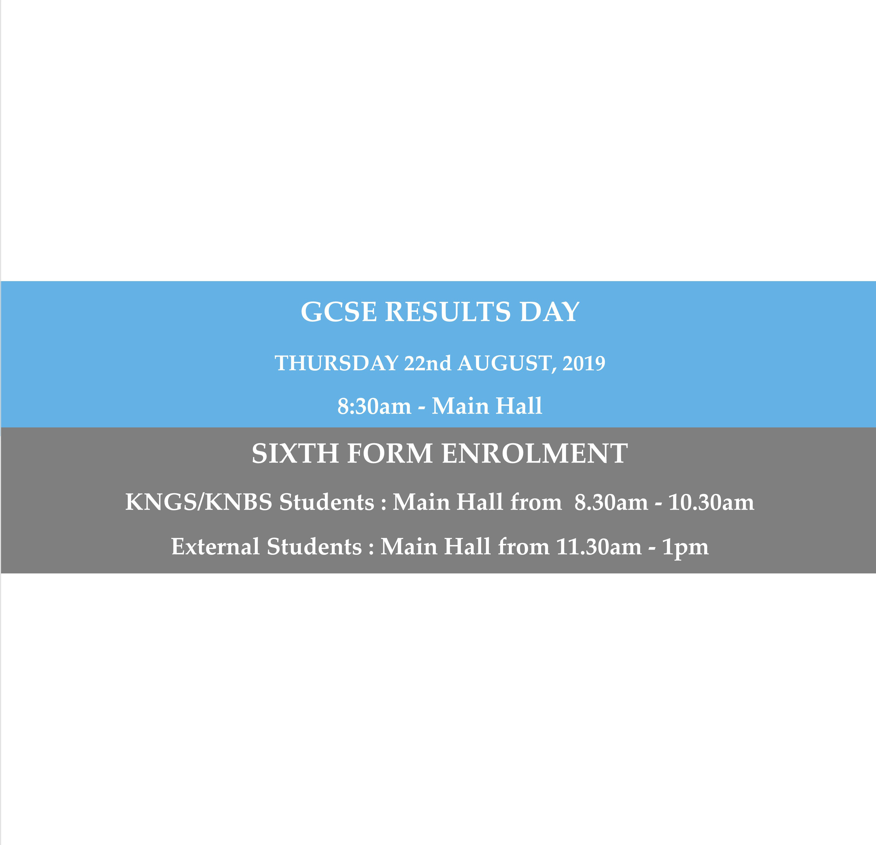 GCSE Results Day Banner Website Aug 2019 Final