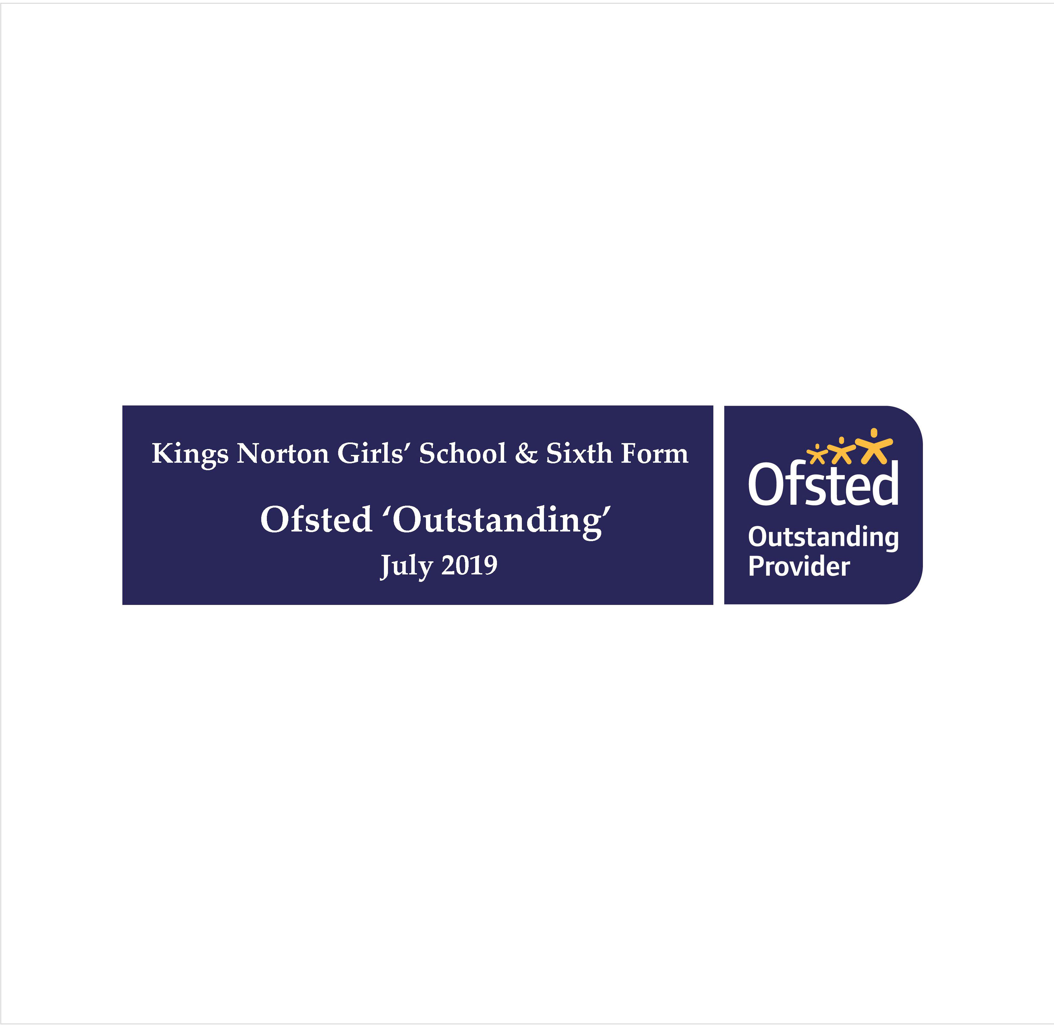 Ofsted Outstanding Website Banner July 19