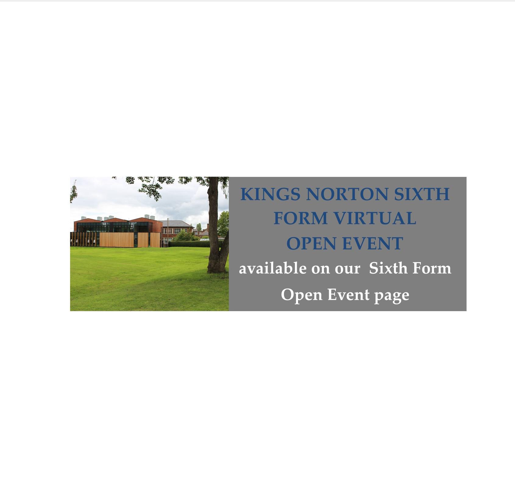 SF virtual Open event now live website banner